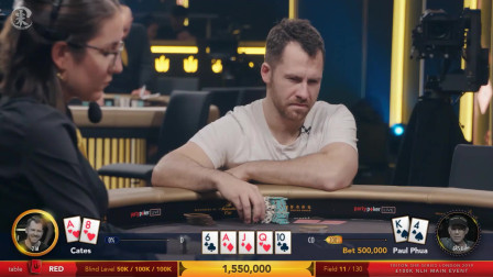 【小米德州扑克】传奇扑克主赛 7 伦敦站