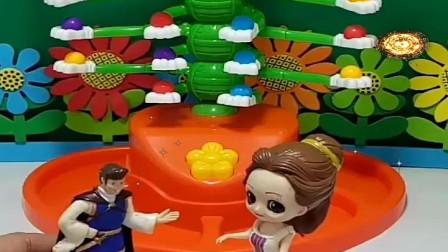 益智少儿亲子玩具:王子要和贝尔在一起了吗62