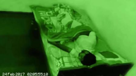 男子感觉家中有外人,安装摄像头后发现熟睡后的灵异事件