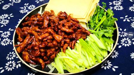 京酱肉丝好吃有诀窍,跟大厨学的做法,味道正宗,越吃越想吃,香