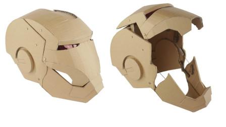太秀了,外国小哥用硬纸板制作液压变形金刚面具,这动手能力贼赞