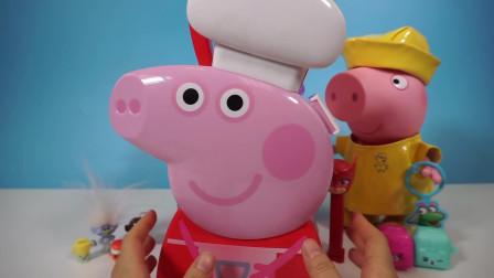 小猪佩奇 Peppa Pig 礼物盒和爱探险的朵拉小书包 北美玩具