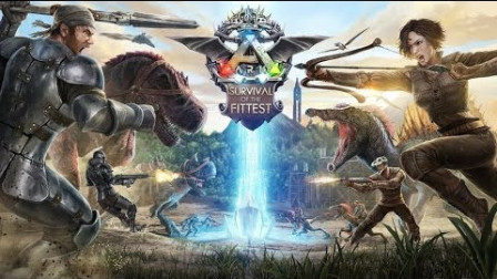ARK:Survival of the Fittest:适者生存- 老头和Moco双人作战 EP1.1