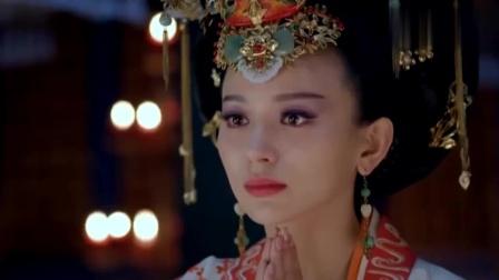 武媚娘传奇:媚娘生孩子,皇后竟诅咒她一尸两命,真让人脊背发凉