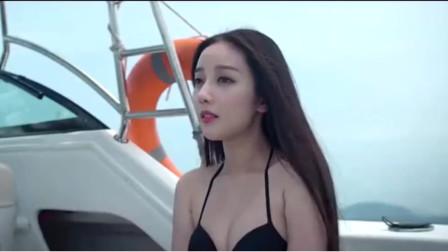 富二代带女友出海, 被困无人荒岛, 为活命被迫吃小动物