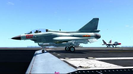 GTA5:这就是歼10战斗机的极限起飞距离