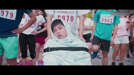 小小的愿望:老爸带瘫痪的儿子跑马拉松,实力坑儿子,绝对亲生的