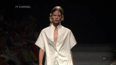 经典T台秀:2020纽约春夏时装周Marcos Luengo品牌时装秀