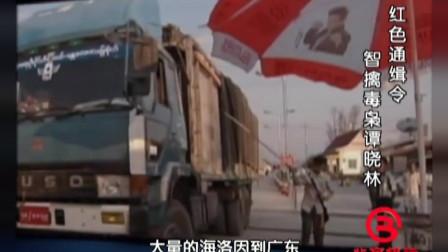 珍贵影像:毒枭谭晓琳携上万吨毒品入境,被干警全程追击!