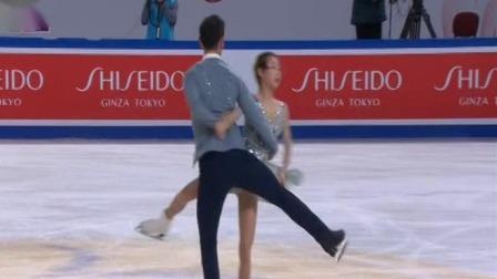 新闻直播间 2019 世界花样滑冰大奖赛 毫无悬念 隋文静/韩聪双人滑夺冠