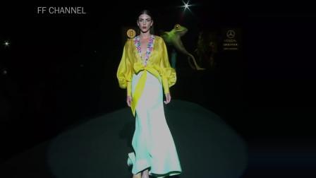 经典T台秀:2020纽约春夏时装周Hannibal Laguna品牌时装秀
