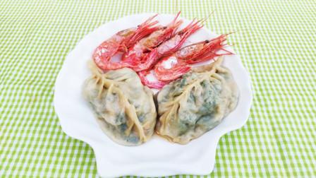 渔村小马:威海风味北极虾菜角,配安康鱼肝又甜又香!