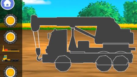 超益智!一起来玩工程车的拼图游戏吧!你拼对了吗?趣味玩具故事