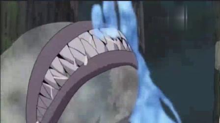 火影中除了鬼鲛的鲛肌之外,竟还有这种以查克拉为食的怪物