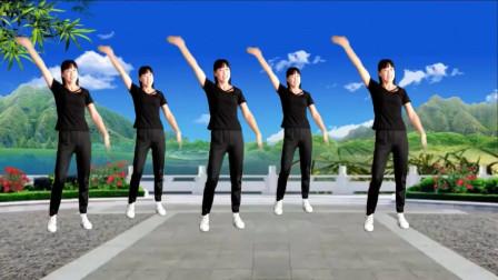 气质美女广场舞《疯狂爱一回》健身舞每天练一练,快乐不停歇!