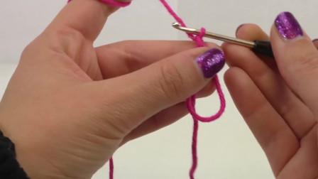 DIY手工制作:编织超级简单圣诞节可爱毛线镂空星星五角星教学展示