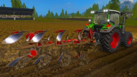 牧场农用车耕田加油