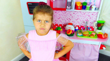 哇哦!萌宝小萝莉的餐厅是遇到什么难题吗?趣味玩具故事
