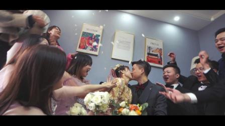 MING ·MIN 铜雀台婚礼快剪 | 蜗牛短视频2019,罗漫花嫁