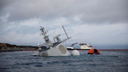 全球首艘沉没宙斯盾舰撞船现场监控曝光,碰撞瞬间火花四溅