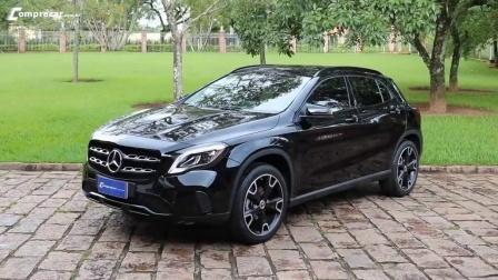 外媒测评新款奔驰GLA200, 不错的德系豪华车开起来就是稳!