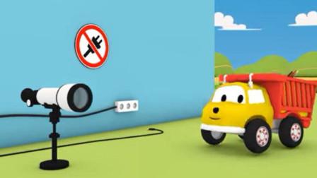 安全教育动画:学习安全规则,认识用火安全标识