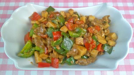 杏鲍菇牛肉粒的做法,杏鲍菇怎么做好吃,这样做实在是太入味!