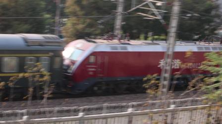 【19.11】K1806次接近封浜站 HXD1D0124