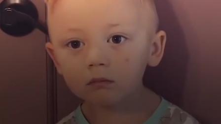 妈妈骗儿子吃光他的糖果,宝宝的反应却是超暖心,简直是个天使啊