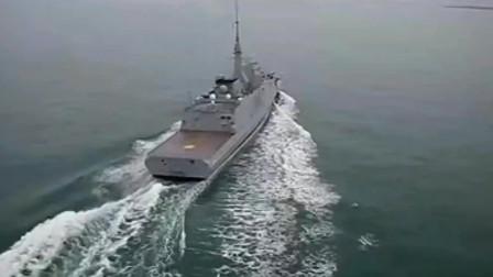 法国FREMM诺曼底号欧洲多用途护卫舰