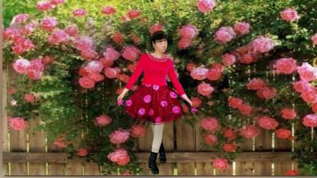 女女广场舞《爱你爱上你》原创入门32步附教学