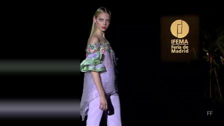 经典T台秀:2020纽约春夏时装周Hannibal Laguna品牌时装秀第七部分