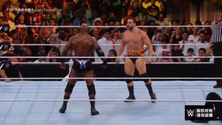 WWE:夺妻之仇不共戴天,绿色夫正面硬刚莱斯利!