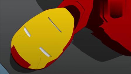 少年钢铁侠:装甲衣能量仅剩3%,罗迪及时锁住了钢铁侠