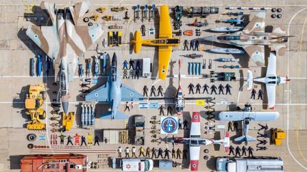 """以色列空军""""开箱挑战"""",多款军机同框,看看一个基地都有啥?"""