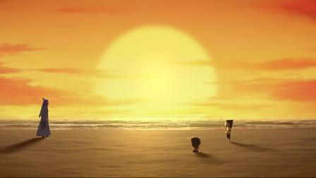 《哪吒之魔童降世》:哪吒敖丙海边踢毽子这幕,满屏都是CP感