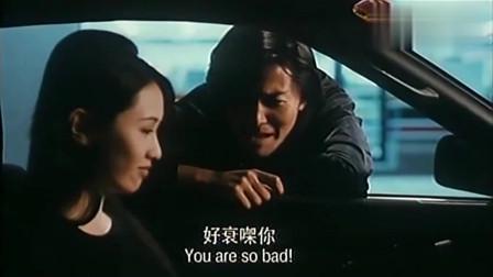 古惑仔:洪兴仔何时怕过谁,三联帮一群人,却抵不过蒋先生霸气!