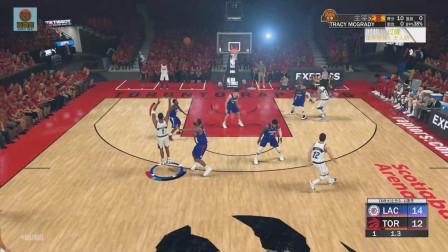 NBA2K20 这场总决赛太经典了!麦迪连续命中2节压哨三分!