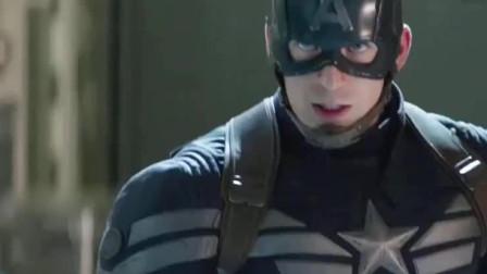 美国队长:队长一直靠龟壳被对手嘲笑,没想到收起龟壳更厉害