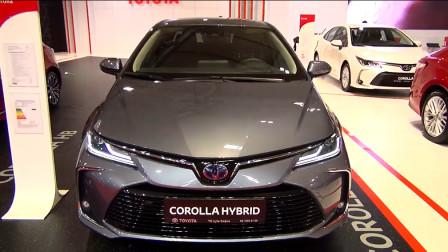 2020款丰田卡罗拉Hybrid,外观和内饰实拍