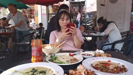 海口人气景点:骑楼老街,吃了文昌鸡和椒盐虾!