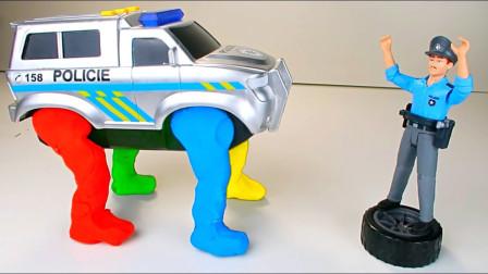 萌宝儿童益智玩具:如果世界上的汽车都长了腿!那人类要怎么办