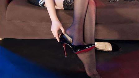 高跟鞋的威力有多可怕?看到这些瓷砖的下场,你还敢招惹女生吗