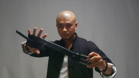街头格斗男人可以用它防身,3种拿法,防身更实用