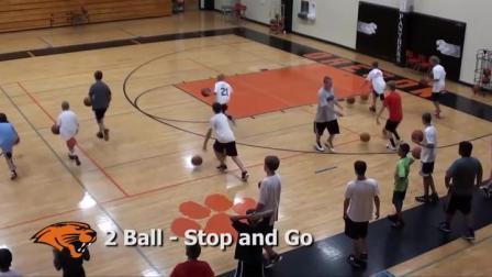 5分钟速览,美国篮球学校一个小时青少年训练课到底练些什么?
