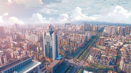 地图里看区域发展,福建省泉州市城市建设进程