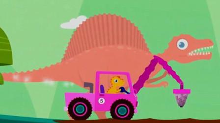 恐龙挖掘机 挖掘机总动员 超级英雄寻宝记 棘龙岛屿大探险 陌上千雨解说