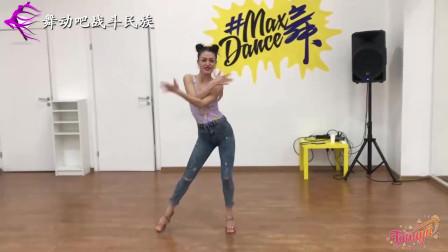 """像电流一样舞动起来!俄罗斯舞蹈老师演绎拉丁风情""""巴恰塔舞"""""""
