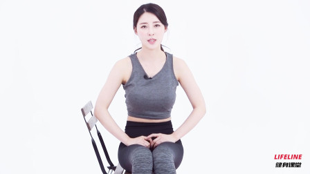办公室如何练腹肌,两个椅上腹肌运动,健身女神黄雅英教你做