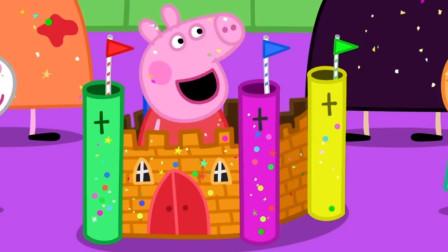 太美了!小猪佩奇怎么变住在城堡的迪士尼公主?可是为何醒不来?儿童益智趣味游戏玩具故事